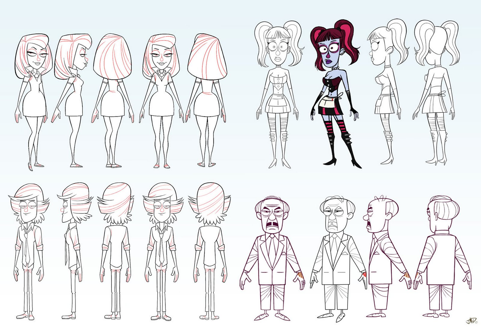 Character Design Sheet Pixar : A c gothwaiters v animation insider