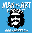 Man Vs. Art!!