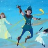 Peter Pan painting,detail,  8 10
