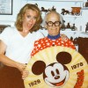 Ward Kimball with Betsy