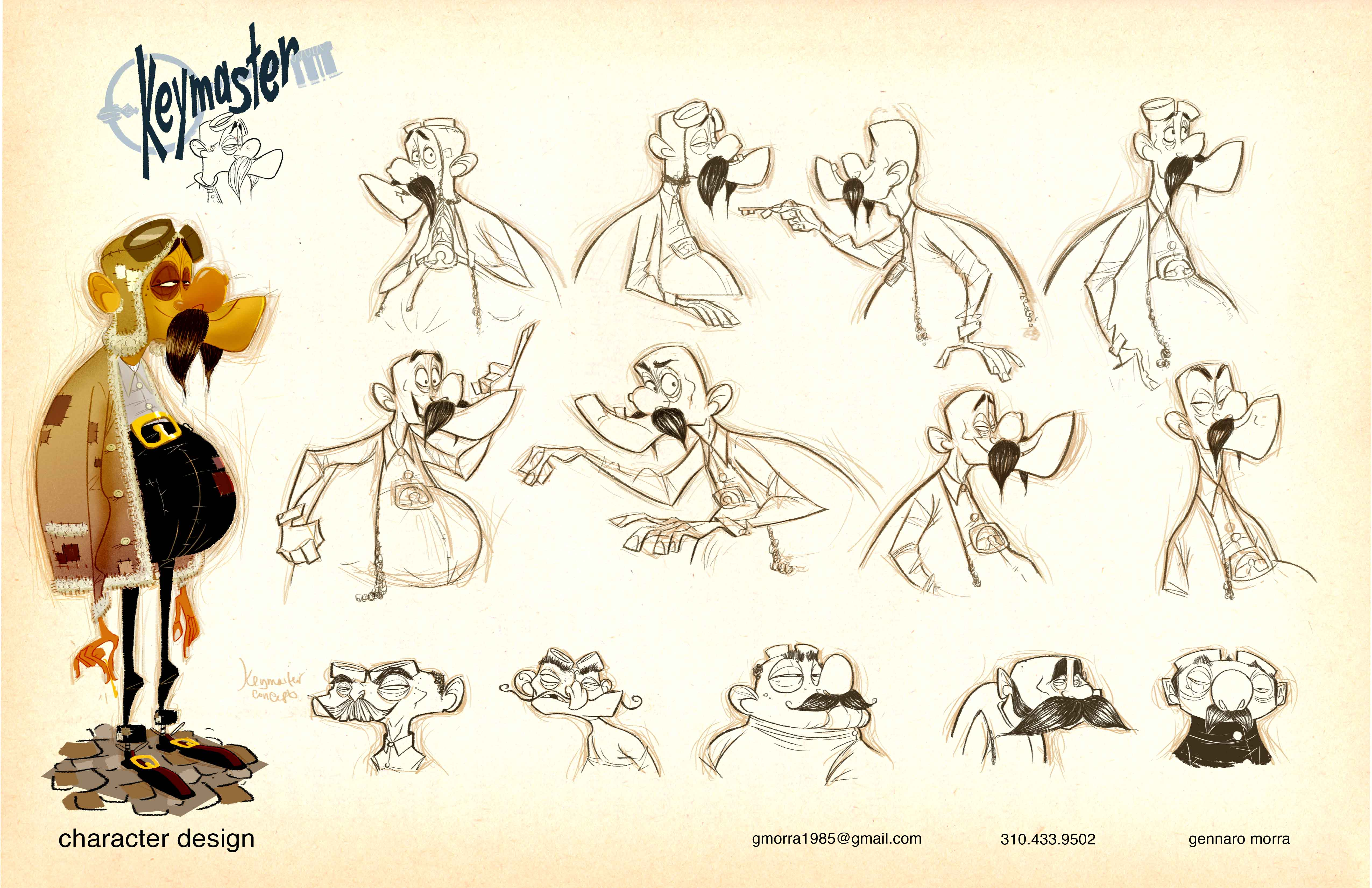 Salary Of Character Designer : Gennaro morra animation insider