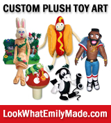 Custom Stuffed Toys!