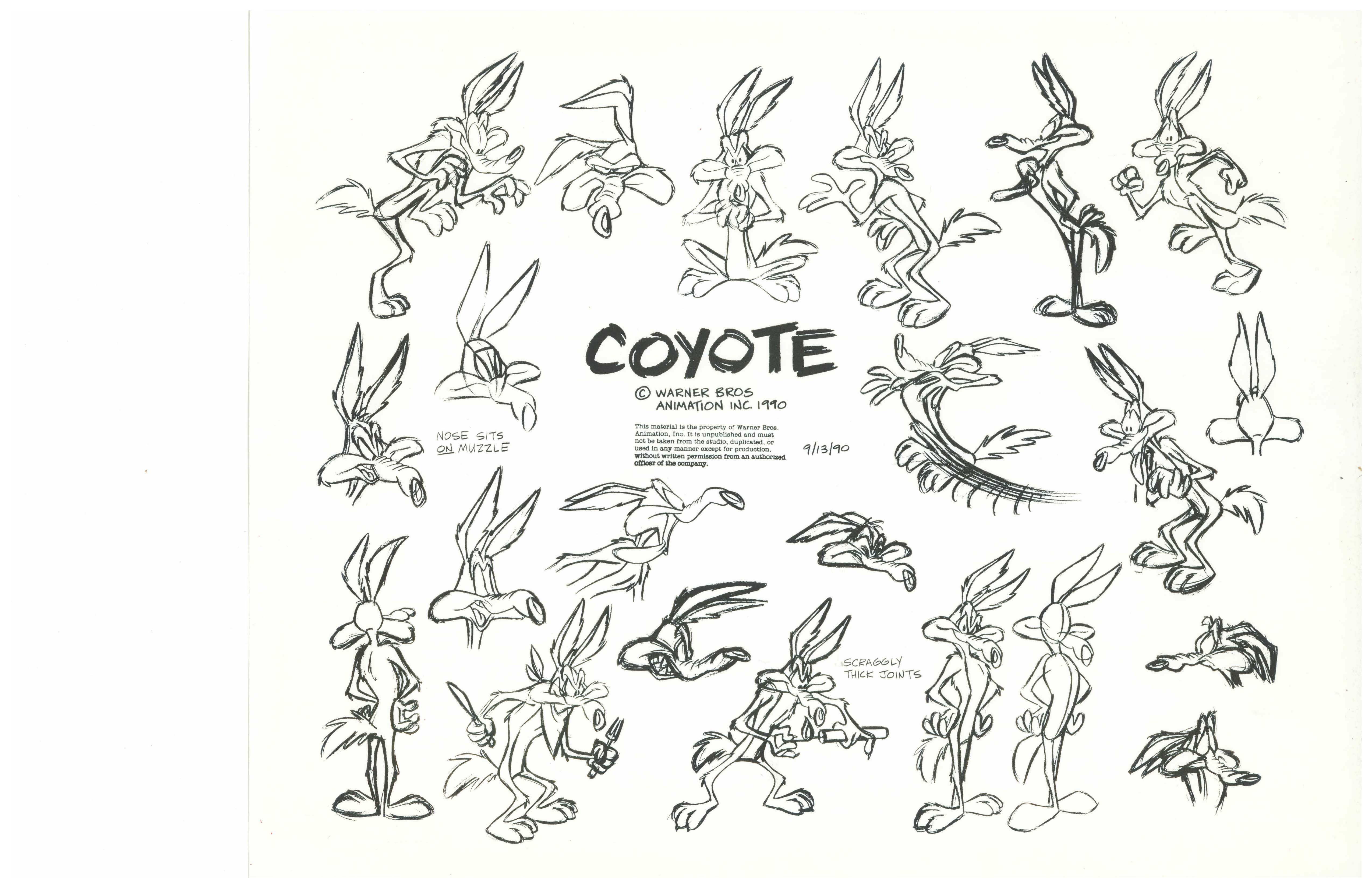 Wile E Coyote Coloring Pages - Eskayalitim